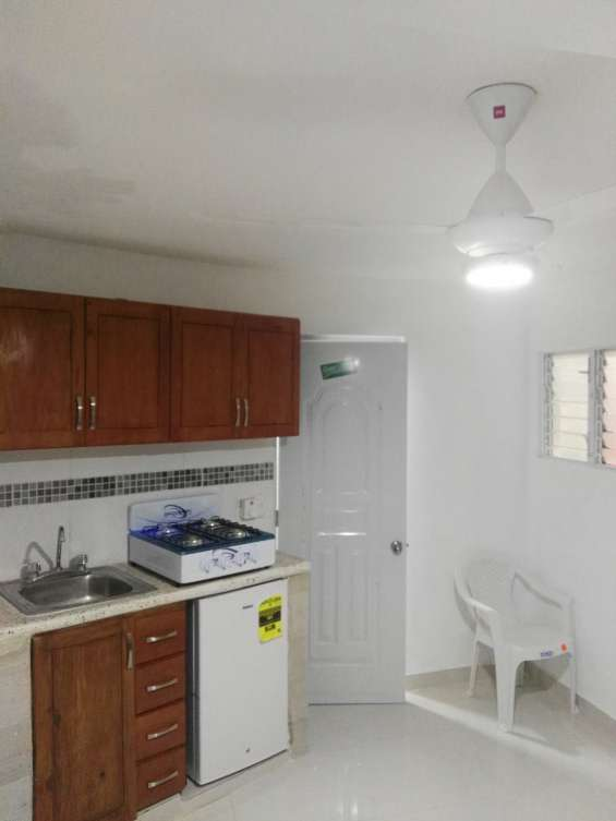 Alquiler apartamento estudio amoblado zona universitaria
