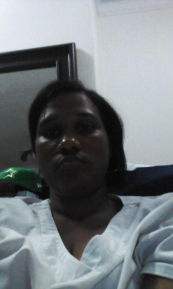 En enfermera adomicilio