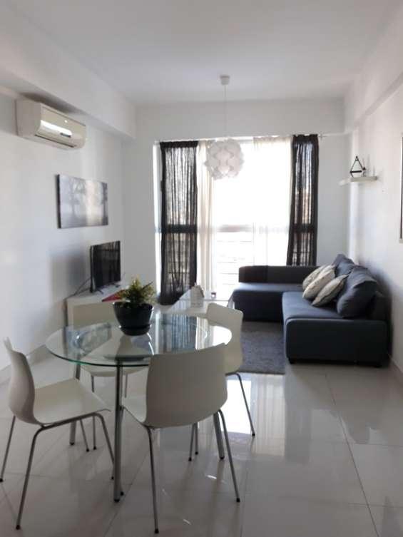 Apartamento en alquiler amueblado ubicado en serralles. 2h 2.5b 2p