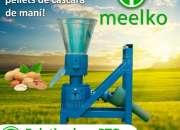 Peletizadora PTO MKFD150P pellets cáscara de maní