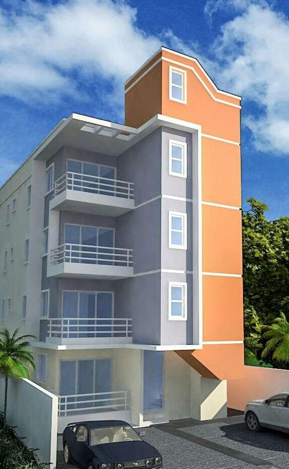 Vendo apartamentos en plano en villa aura
