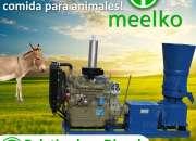 Peletizadora Diésel MKFD360A pellets comida de asno