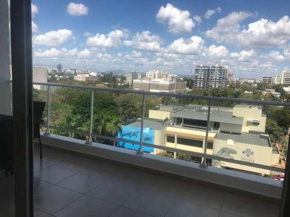 Alquiler apartamento, sector gazcue, santo domingo