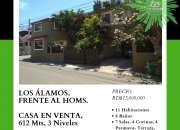 Frente Al HOMS, Los Álamos, Casa en venta, 612 Mts.