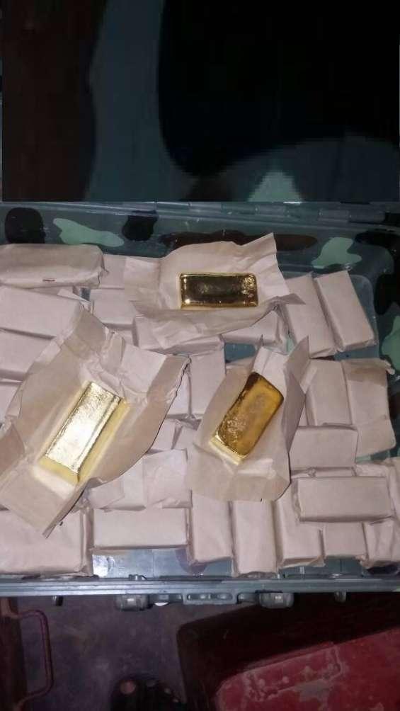 Lingotes de oro para la venta