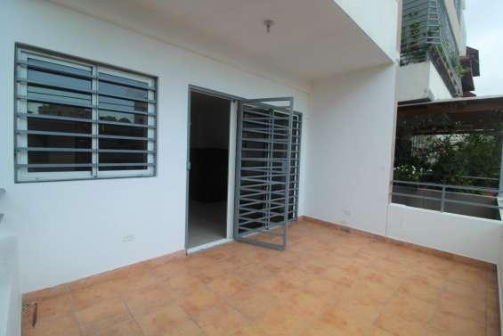 Apartamento en venta urbanización fernandez 2da con terraza