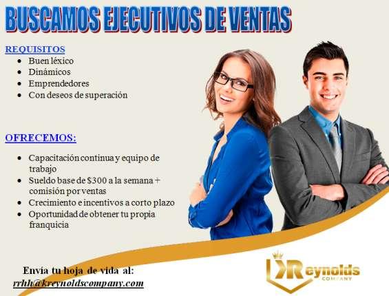 Conviértete en nuestro mejor ejecutivo (a) de ventas