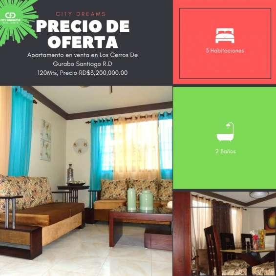 Fotos de Cerros de gurabo, apartamento en venta, santiago de los caballeros, 120mts 1