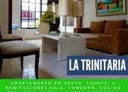 La trinitaria santiago, apartamento en venta, 130mts.