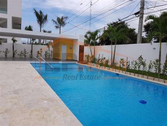 Apartamento de venta con piscina y juegos infantiles kga-272