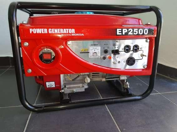Planta eléctrica 2.5 kw de potencia