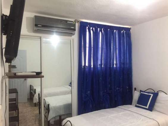 Alquilo apartamento amueblado en lucerna 829-605-9525 / 829-544-2986