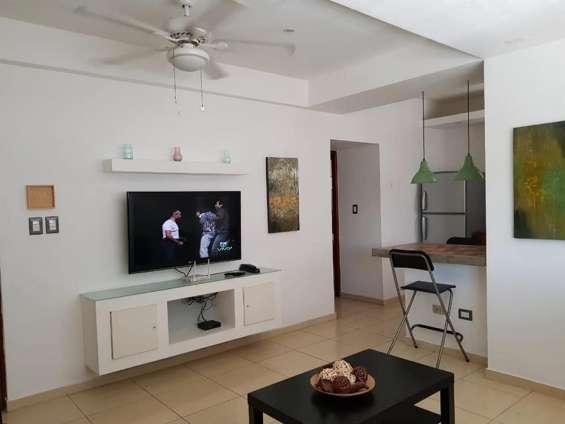 Gazcue apartamento amueblado de 1 habitacion en alquiler