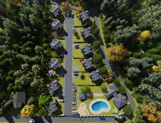 Villas de venta en jarabacoa en proyecto cerrado rmv-190