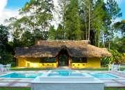 Villas y cabañas vacacionales turísticas con piscina rmv-169e