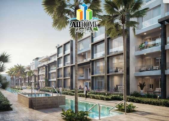 Apartamentos en primera linea de playa, av. alemania-bávaro