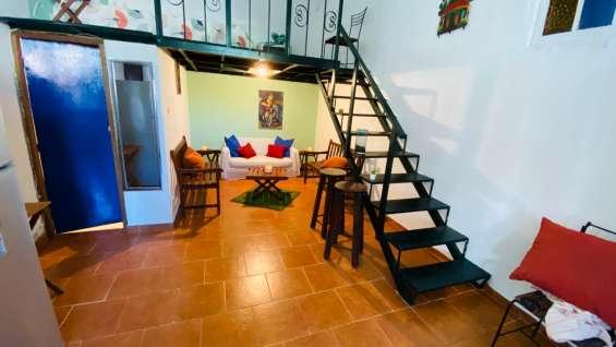 Alquiler apartamento 1 hab, amueblado, zona colonial
