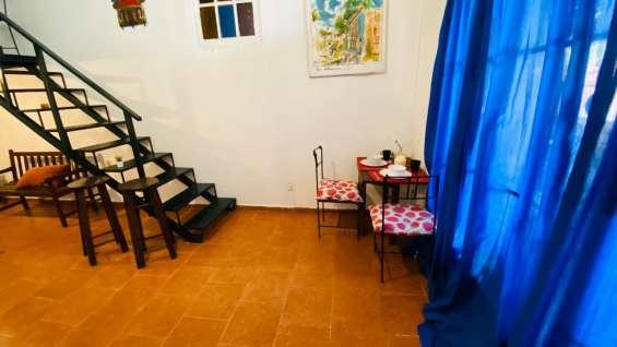 Alquiler apartamento amueblado en gascue de dos habitaciones