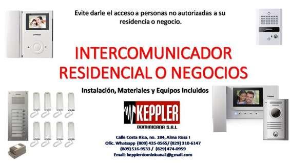 Intercom para residencias y negocios