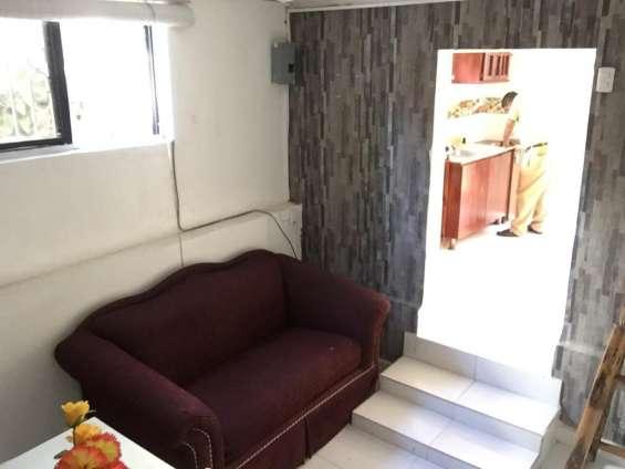 Alquiler departamento amueblado de 1 habitacion en gascue, amueblado.
