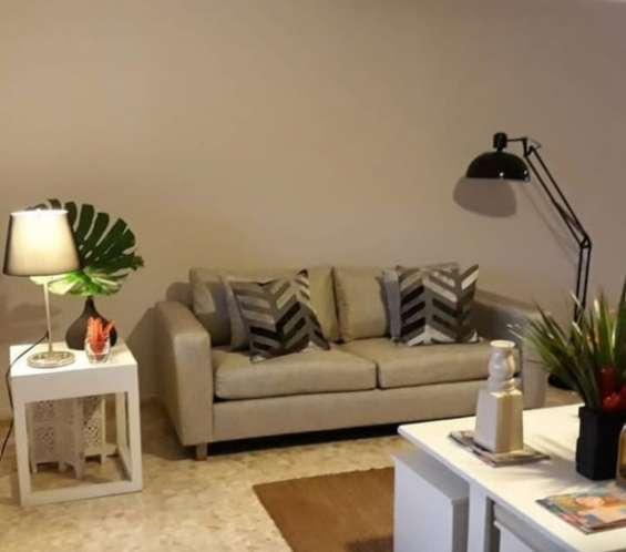Alquilo apartamento amueblado en piantini 829-605-9525 / 829-544-2986