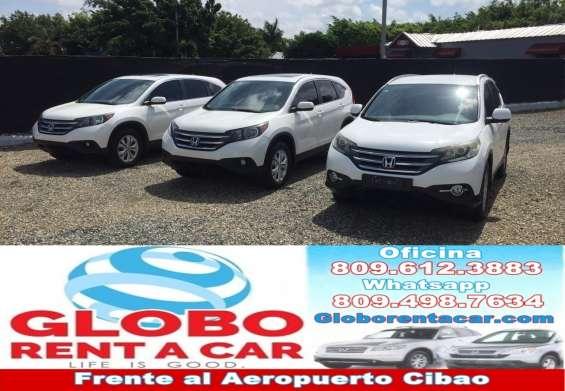 Alquiler de vehículos en santiago rep .dom. globo rent a car