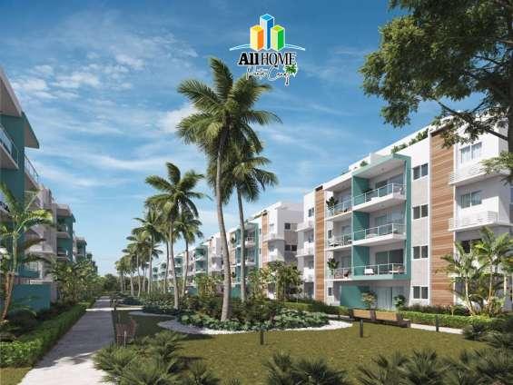 Residencial de apartamentos y villas, calle don juan- bávaro