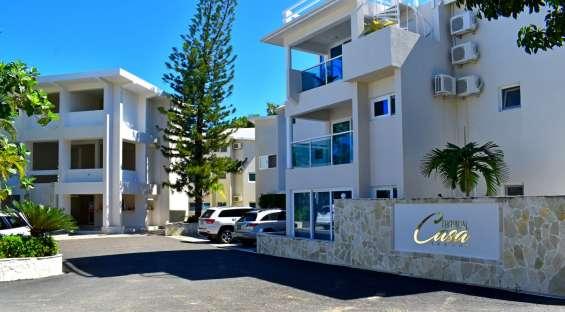 Apartamento en venta en corazón de cabarete para vivir y hacer negocios120000$propietario!