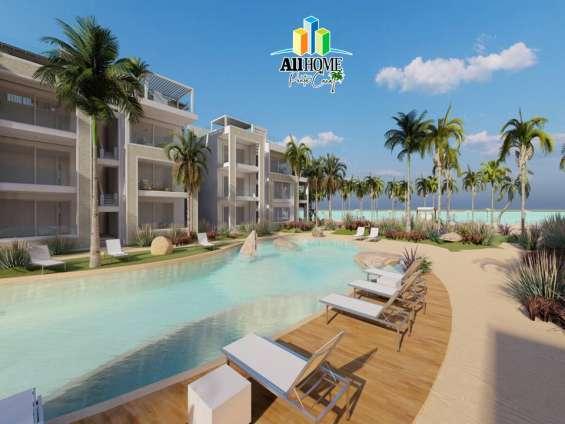 Apartamentos en primera linea de playa, bayahibe - la romana