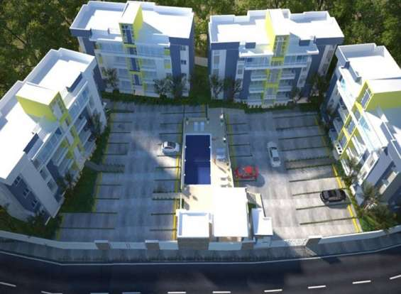 Apartamento en la jacobo majluta en construccion para octubre 2020
