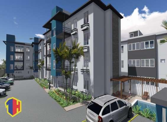 Residencial en la jacobo majluta con bono vivienda