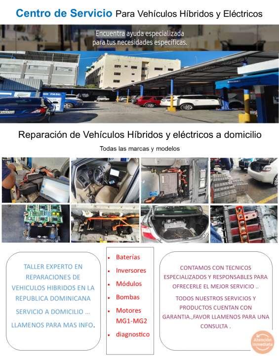 Reparaciones de vehículos híbridos y eléctricos