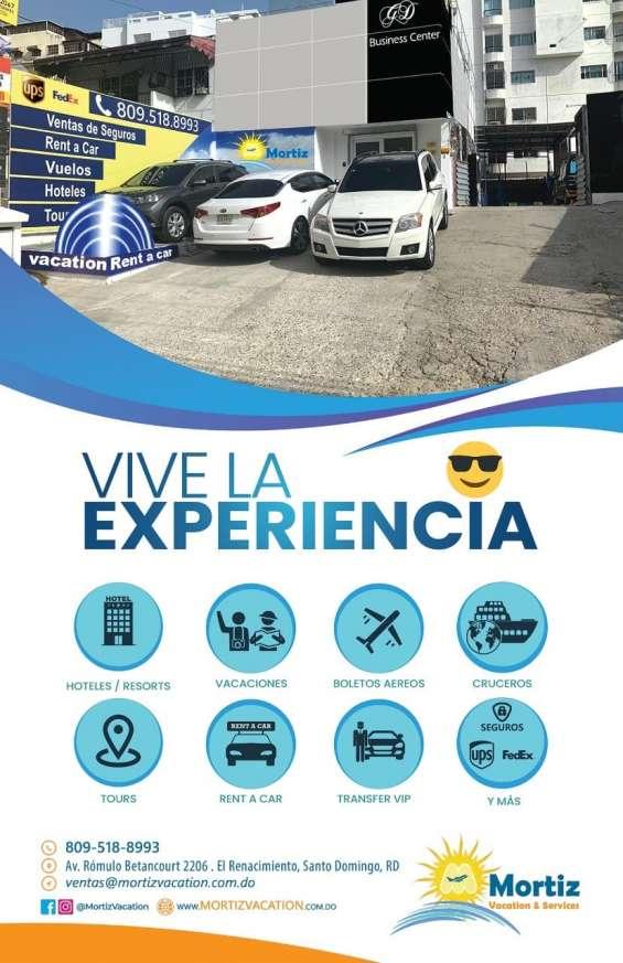 Mortiz vacation & services todo para vacacional y rentas de vehículos