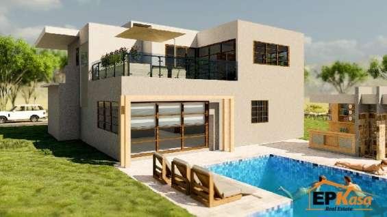 Villa de venta con piscina en playa nueva romana rmv-192