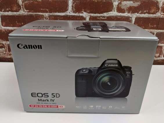 Cámara réflex digital canon eos 5d mark iv de fotograma completo con
