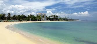 Exuberante playa