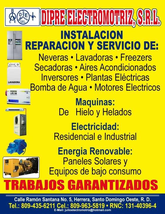 Lavadora y secadoras reparacion y servicio