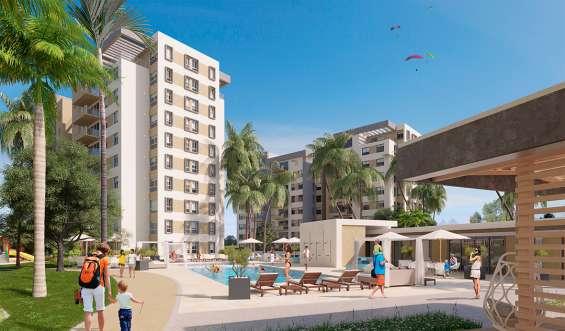 Nuevas torres de apartamentos de 121m2 en la jacobo majluta
