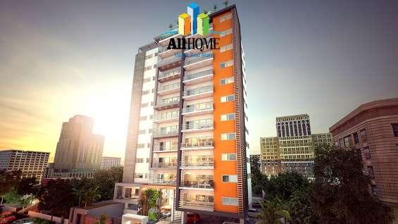 Alquiler de apartamento amueblado, serralles, distrito n.