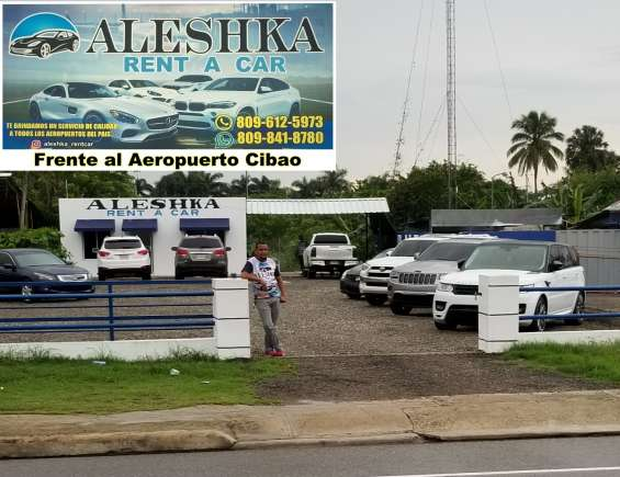 Aleshka rent a car en santiago rep. dom