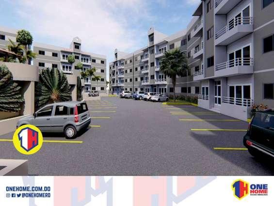 Apartamentos en la jacobo majluta con terminacion de primera y nuevos