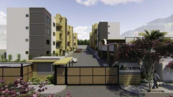 Espectacular proyecto de apartamentos en la jacobo majluta con piscina, areas sociales.