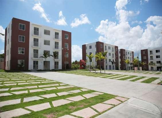 Extraordinario residencial en santo domingo norte con bono vivienda, area de juegos.