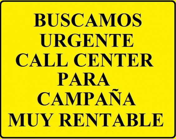 Buscamos call center para trabajar campaña de electricidad en españa