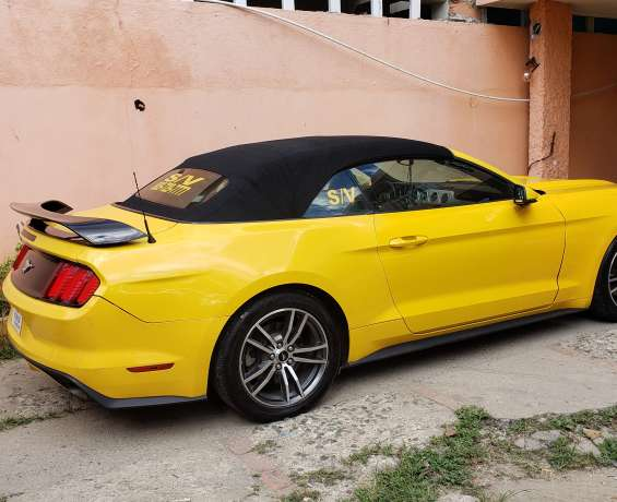 Ford mustang ecoboost premium convertible 2016