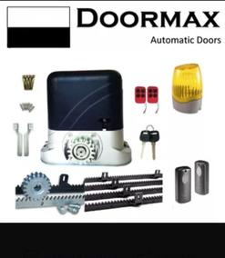 Motor para puertas marca doormax 800 kg sin inicial pago contraentrega