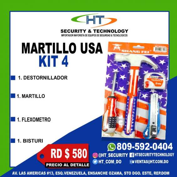 Martillo usa kit 4