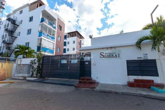 Apartamento en venta en residencial samira i, santiago. jna-177