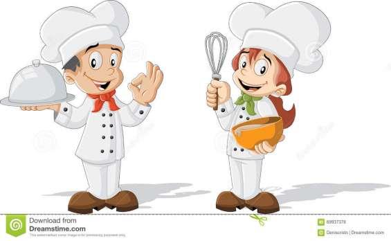 Se busca coninera/cocinero con experiencia en pica pollo.