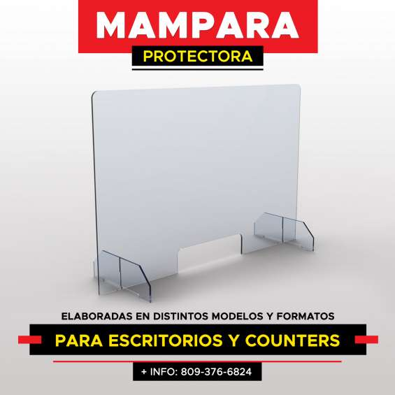 Mamparas protectoras